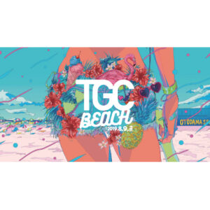 TGC BEACH 2019  キービジュアルデザイン
